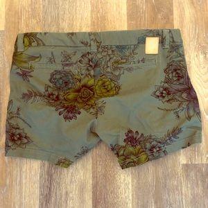 Women's burton goods pocket waist shorts flower 31